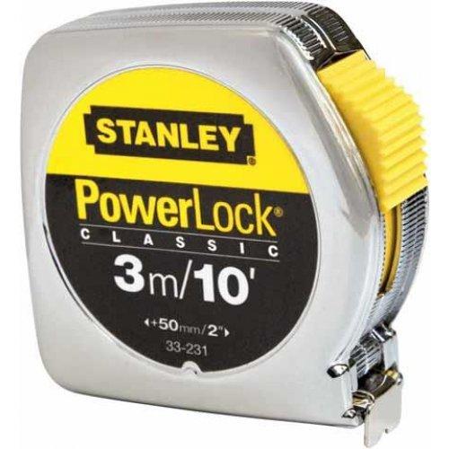 Svinovací metr 3m/10ft, plastové ABS pouzdro Stanley 0-33-203
