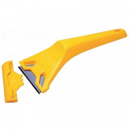 Plastová škrabka na sklo 170x60mm Stanley 0-28-590