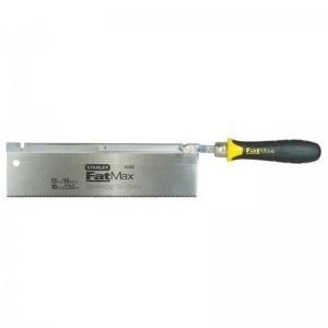 Pila čepovka s vyhnutou rukojetí 13TPI 250mm Stanley FatMax 0-15-252