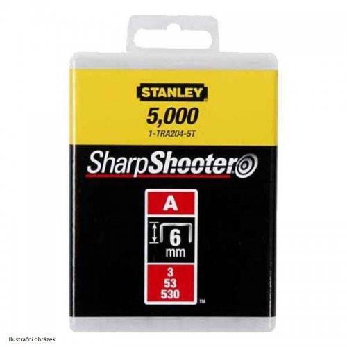 LD sponky TYP A 5/53/530, 6mm 5000ks Stanley 1-TRA204-5T