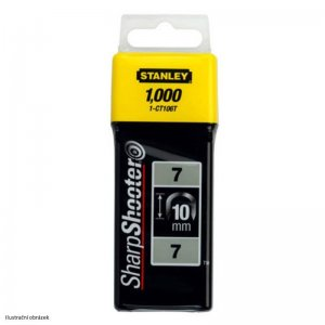 Sponky na kabely TYP 7 CT100, 10mm 1000ks Stanley 1-CT106T