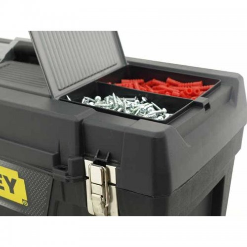 Box s kovovými přezkami Stanley 1-94-859