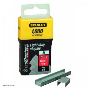 LD sponky TYP A 5/53/530, 8mm 1000ks Stanley 1-TRA205T