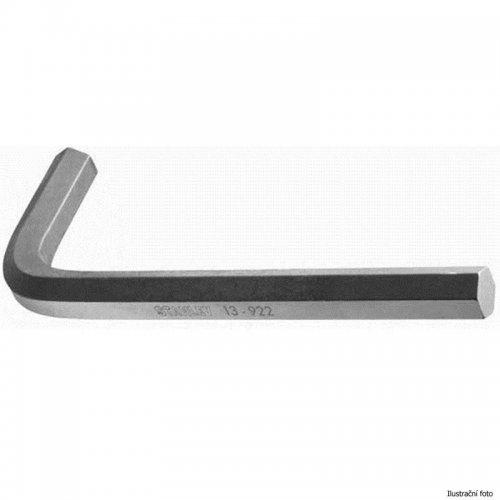 Metrický zástrčný 6-ti hranný klíč Inbus 10x40x112mm Stanley 1-13-922