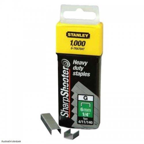 HD sponky TYP G 4/11/140, 6mm 1000ks Stanley 1-TRA704T