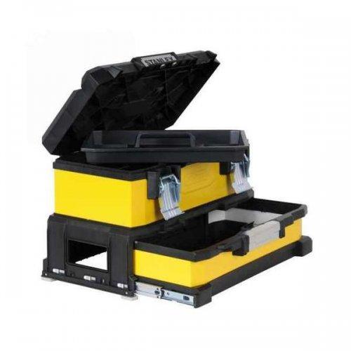 Kovoplastový box na nářadí se zásuvkou STANLEY 1-95-829