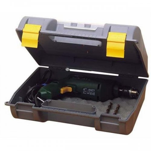 Box na elektronářadí s organizérem ve víku Stanley 1-92-734