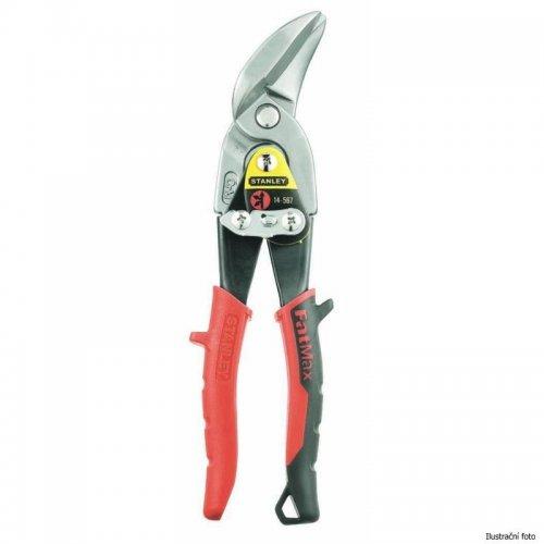 Převodové nůžky na plech vyhnuté pravé Stanley FatMax 2-14-568
