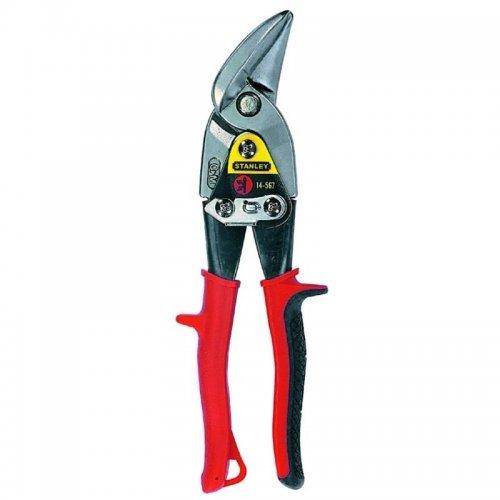 Převodové nůžky na plech vyhnuté levé Stanley FatMax 2-14-567
