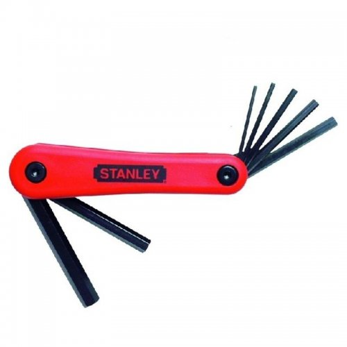 7-mi dílná nožová sada šestihranných zástrčných klíčů Inbus 2,5-10mm Stanley 4-69-262
