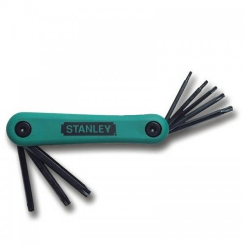8-mi dílná nožová sada zástrčných klíčů Torx T9-T40 Stanley 4-69-263