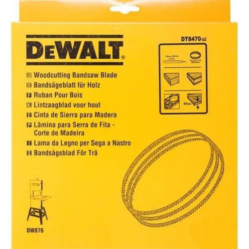 Pilový pás pro DW876 na dřevo a plasty vyřezávací 4mm DeWALT DT8470