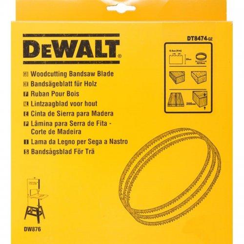 Pilový pás pro DW876 na dřevo a plasty přímý řez 20mm DeWALT DT8474