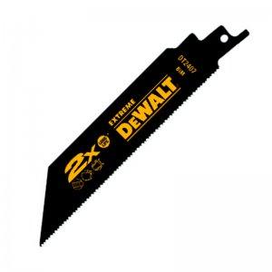 Pilový plátek na kov, armatury, trubky a profily rychlý řez pro mečové pily 152mm 5ks DeWALT DT2407