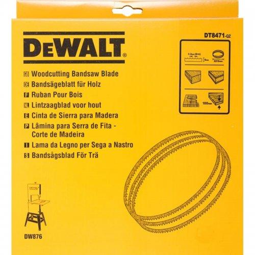 Pilový pás pro DW876 na dřevo a plasty vyřezávací 6mm DeWALT DT8471
