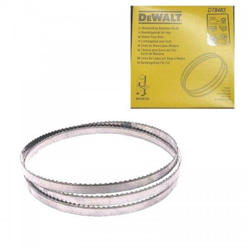 Pilový pás pro DW738/DW739 na dřevo vyřezávací 6mm DeWALT DT8483
