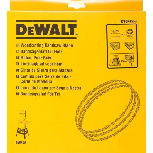 Pilový pás pro DW876 na dřevo a plasty univerzální 10mm DeWALT DT8472