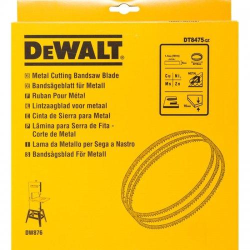 Pilový pás pro DW876 na barevné kovy a plasty vyřezávací 6mm DeWALT DT8475