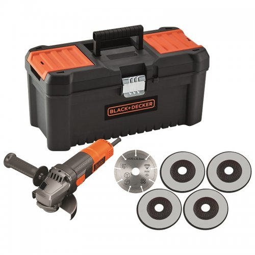 Úhlová bruska 125mm Black&Decker BEG220KA5