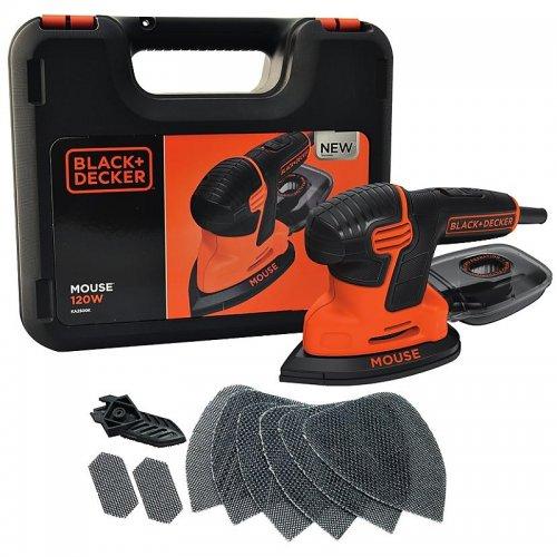 Vibrační bruska Mouse Black&Decker KA2500K