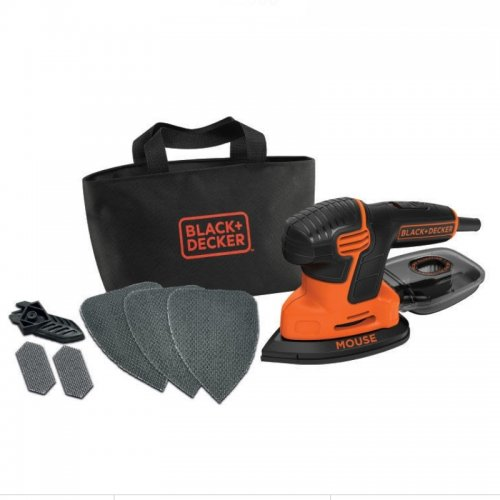 Vibrační bruska - myš Black&Decker KA2000