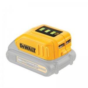 Adaptér USB nabíjení pro XR baterie 10,8 - 18V DeWALT DCB090