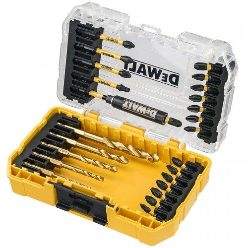 25dílná sada bitů a vrtáků do kovu DeWALT DT70749T