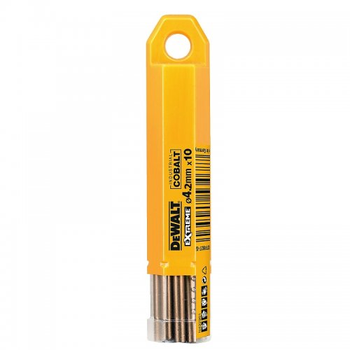 Vrták do kovu HSS-E COBALT 4,2×75mm (10ks) DeWALT DT4926