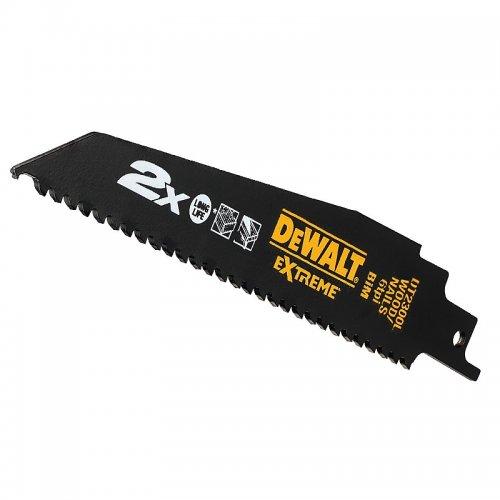 Pilový plátek pro řezání dřeva a dřeva s hřebíky pro mečové pily (5ks) 152mm DeWALT DT2300L