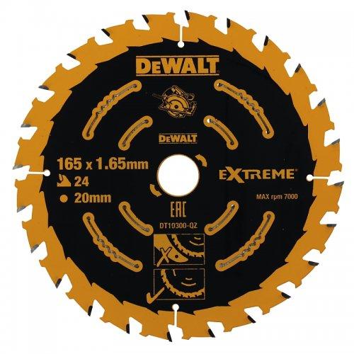 Pilový kotouč 165x20mm, 24 zubů DeWALT FLEXVOLT DT10300