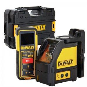 Set křížového laseru a dálkoměru DeWALT DW0889CG