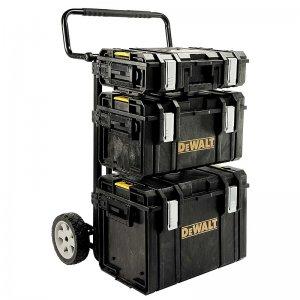 Kompletní set kufrů Tough Box a přepravního vozíku DSCarrier DeWALT 1-70-349