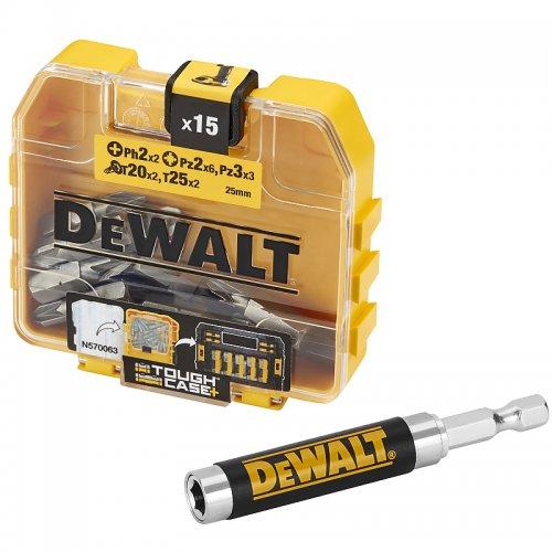 16dílná sada bitů DeWALT DT71511