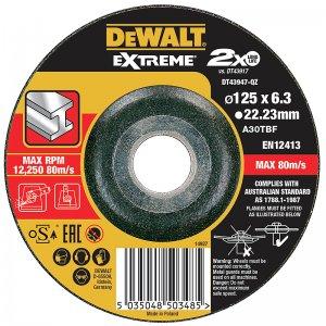 Řezný kotouč 115 x 1,2mm, 10ks DeWALT DT43921