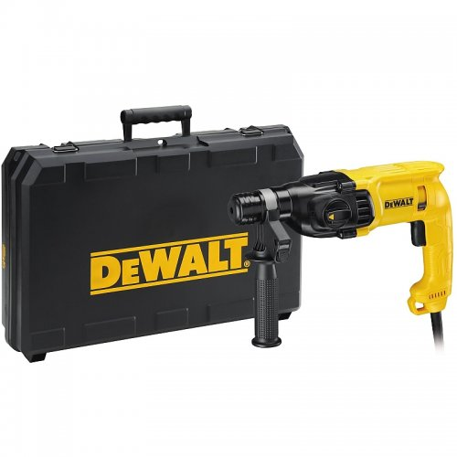 Kombinované kladivo SDS-Plus 22mm se 3 režimy DeWALT D25033K