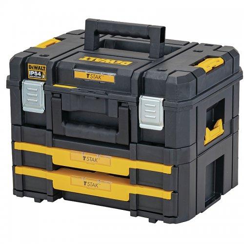 Set kufrů TSTAK II+IV DeWALT DWST83395-1