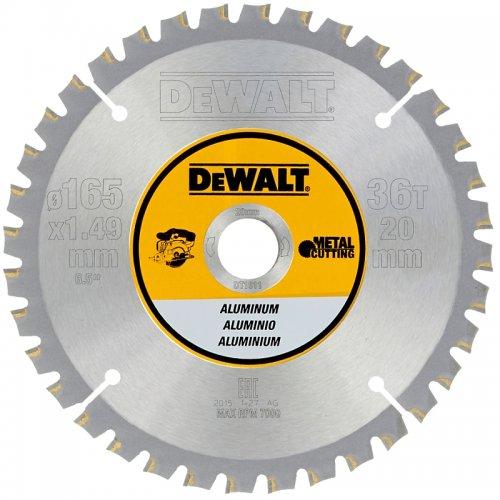 Pilový kotouč na hliník 165x20mm, 36 zubů pro aku pily DeWALT DT1911
