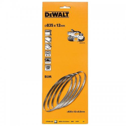 Bimetalový pilový pás 14 TPI pro DCS371 (4ks) DeWALT DT8460