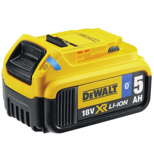 Originál akumulátor 18V 5,0Ah XR Li-Ion s Bluetooth DeWALT DCB184B