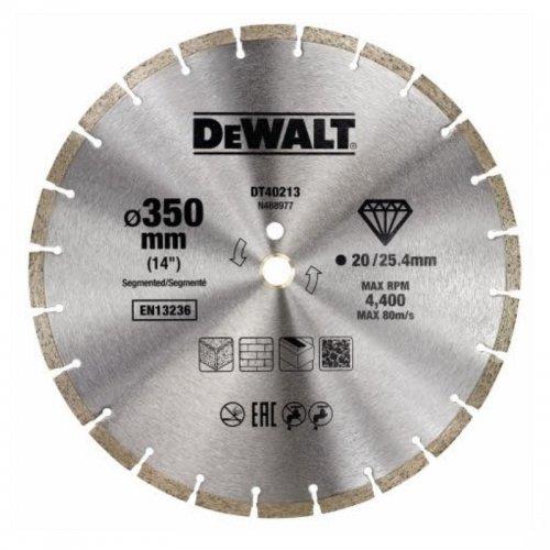 Diamantový kotouč 350mm DeWALT DT40213