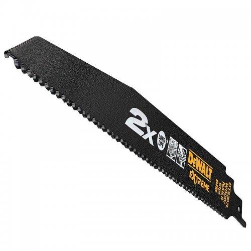 Pilový plátek pro řezání dřeva a dřeva s hřebíky pro mečové pily (5ks) 228mm DeWALT DT2307L
