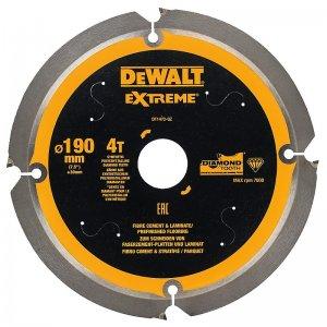 Pilový kotouč pro cementovláknité desky a laminát 190x30mm 4z DeWALT DT1472