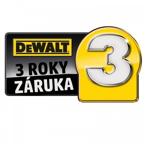 Prodloužená záruka DeWALT na 3 roky (registrace zboží do 30 dnů)