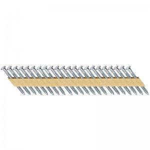 Pozinkované kroužkované hřebíky 4x50mm pro DCN693 2000ks DeWALT DNM40R50GZ
