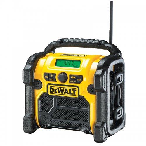 Aku rádio XR Li-Ion 10,8 - 18 V + 220V + USB nabíječka DeWALT DCR020