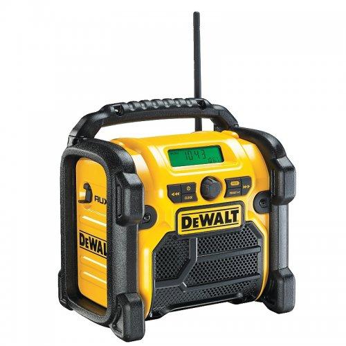 Aku rádio XR Li-Ion 10,8 - 18 V + 220V DeWALT DCR019