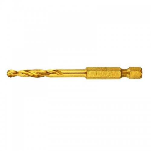 Titanový vrták do kovu 3,5x69,8mm pro rázové utahováky DeWALT DT50002