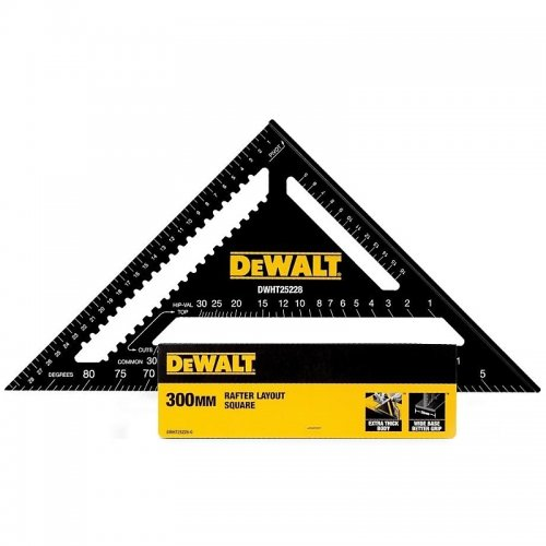 Úhelník pro tesaře – 30 cm DeWALT DWHT25228-0