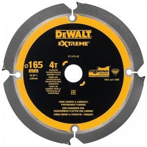 Pilový kotouč pro cementovláknité desky a laminát 165x20mm 4z DeWALT DT1471