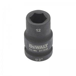 """Nástrčná hlavice EXTREME IMPACT 1/2"""" 13mm, krátká DeWALT DT7531"""